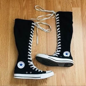Converse knee high all star sneakers